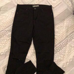 Pants - Topshop Moto Leigh Black Jeans